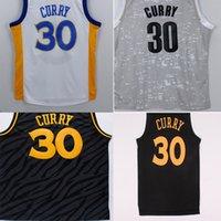 Wholesale 1pcs multiple Colour top quality number logo Cotton apparel throwback steph curry men sport wear for fans Q00001