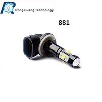 Wholesale 1 pc of Hot sale w w w Car LED Front Fog Headlight Lamp High Beam DC12 V Car Light Led Bulb