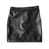 Wholesale Womens Sex Fetish Spanking Dress Stretch to Fit PVC Leather Open Buttocks Mini Dress with Locking Panties