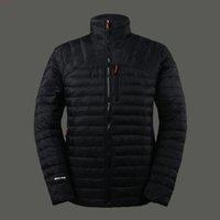Wholesale Winter Men s Ultra light Hiking Down Jackets White Duck Down Padded Coats Outdoor Sports Down Parkas JK