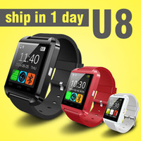automatic messaging - smartwatch automatic wrist watch phone work with ios android phone samsung iphone bluetooth smart watch with Barometer Pedometer OTH014