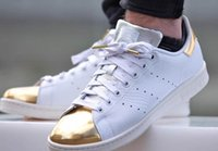 Unisex Genuine Leather PVC stan smith gold toe snake,Snakeskin, Silver, and Gold Toe Stan Smith Sneaker for men and women,free shipping