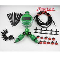 Wholesale Micro irrigation watering systems containers drip sprinkler irrigation timer Garden watering kits m water hose
