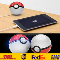 bank rope - 2 Generation mAh Poke Elf Ball Cell Phone Power Banks Pocket Monster Universal Portable Mobile Chargers With Strap Rope Gifts SZ P09