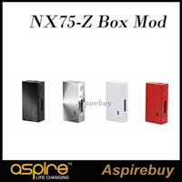 aspire screen - Aspire NX75 Z Mod the Mechanical Zinc Alloy Version W Box Mod Five Button System and High Resolution OLED Screen NX75 Box Mod100 Authentic