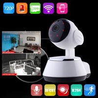 android wireless network - 2016 Newest P Wireless IP Camera WiFi P2P Smart Link Surveillance Video For Smartphone G G network outside supported by iOS Android