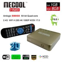 au gold - Android marshmallow TV Box Quad core GB GB K D Android TV Box HD P Kodi Media Player MECOOL HM8