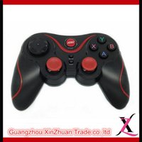 Wholesale Fashion T3 Wireless Bluetooth Remote Controller Gamepad Black Red For Tablet Phone Smart TV PC Laptop D Video Glasses