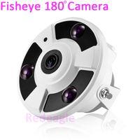 180 degrés fisheye 1200TVL CCTV Dôme Caméra de sécurité vidéo 3 IR Array LED pour l'hôtel de la maison de supermarché