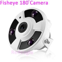 Wholesale 180 degree fisheye TVL CCTV Dome Video security Camera IR Array LED for supermarket home hotel