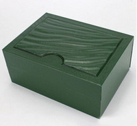 Wholesale Brand Watches Boxes Luxury Watch Boxes Replica Green Watches Boxes Original Watch Box