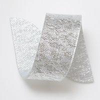 Wholesale X Silver Acrylic Napkin Rings Beauty Special Irregular Plastic Napkin Holder For Wedding Hotel