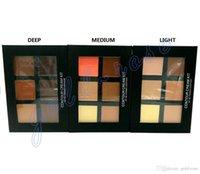 Wholesale Brand New High quality Makeup Face Anastasia Contour Cream Kit LIGHT MEDIUM DEEP Colors