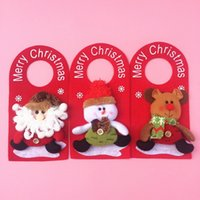 add door - Three dimensional Christmas products accessories Christmas door hanging Christmas decorations Add Christmas decorate Christmas decorations