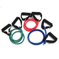 Wholesale Yoga Exercise Resistance Band Stretch Fitness Tube Cable For Workout Yoga Muscle Tool