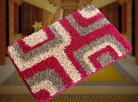 Wholesale Bedroom Door Mats Gate Pad Carpets size Polyester Material Aniti Skid