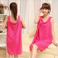amazing towel - Amazing magic towel microfiber lovers can wear soft water bath towel bathrobe towel