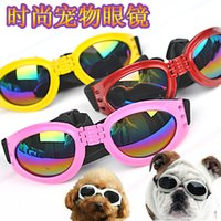 Wholesale Most Fashion Pet Grooming Glasses Pets Dog Sunglasses Dog Accessories Protection From Wind And Rain ZD047