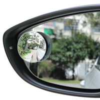 auto rear view mirror glue - A Pair Car Styling Auto Motorcycle Blind Spot Rear View Mirror Degree Adjustable Car Mirror Accessories