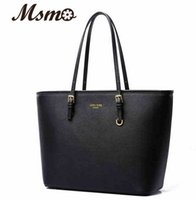 Wholesale 2016 new arrival women handbag fashion shoulder bag casual large michael designer pu leather tote bag sac a main femme de marque