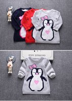 Wholesale New Unisex winter autumn infant baby boy girl child Cartoon sweaters Cheap Children outerwear Pullovers sweatshirt MC0313