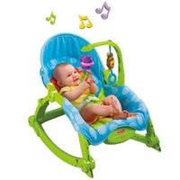 Wholesale 2016 Hot Sale baby multifunction portable recliner foldable rocking chair baby feeding children chair