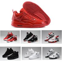 Cheap Air 4 retro men basketball shoes online cheapest sale the best real quality authentic good sneakers US size 8-13 free ship