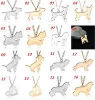 alaska gifts - Small animal pendant necklace Starling dog French Bulldog Huskies Teacup dog Alaska dog pendant Necklace Fashion jewelry