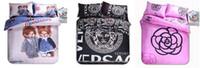 duvet cover - Hot sale Home textiles New D Printing Duvet cover Bed sheet Pillowcase bedding set Queen size