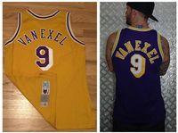 Wholesale Nick Van Exel jersey basketball Jerseys men Free Drop Shipping Mix Order