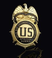 agent j - The United States J badge Narcotics Control Bureau DEA agent DEA SpecialAgent metal badge