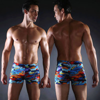Wholesale 2016 New Arrival Men Swimwear By DHL Colors Printing Summer Fashion Pop Plus High grade Swimsuit Drop Shipping Hot Selling