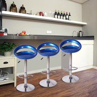 Wholesale Bar chair bar stool stools swivel backrest simple reception lift barstool