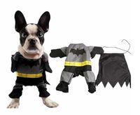 batman dog shirt - Pet Batman halloween christmas costumes Pets Dog Costumes Cool Pet Clothes Outfit Shawl Mantle Fancy Dress Clothing Cats T shirts Appare