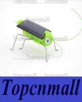 Wholesale Solar Toys Solar Grasshopper game Mini Grasshopper For Kids Fun Bug Robot Power Energy toys for children