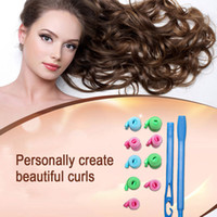 Wholesale 18PCS Set cm Profession Creative Snail Hair Curler Hair Rollers Magic Rollers Styling Hare Care Tools Kits