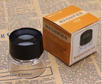 Wholesale MG17136 Portable Cylinder Magnifier x x Pocket Size Eyepiece Magnifier for Clocks Watches Repair for inspection of plants animals