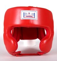 Wholesale Hot sale boxing head protector for prizefighter high quality NBR foam head protective gear boxing helmet