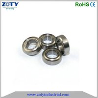 Wholesale China Factory Bearing MR137zz deep groove ball bearings MR137 z Chrome steel ball bearings mm ball bearing MR137