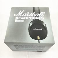 Cheap Marshall MONITOR Headphones Noise Cancelling Headset Deep Bass PK Studio 2.0 Monitor Rock DJ Hi-Fi headphone Earphone with mic retial Box