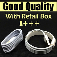 Wholesale Hight Quality M Ft M FT Micro USB Cable Sync Data Cable Charging Cords With Retail Box For Phone Samsung Galaxy S6 S7 Edge