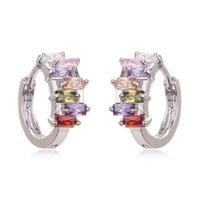 Wholesale Crystal fashion charm ear clip Korean version of all match beautiful ear hoops