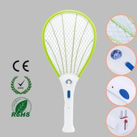 bats electric - 1pcs Rechargeable Electric Insect Bug Bat Wasp Mosquito Zapper Swatter Racket anti mosquito killer Electric Mosquito Swatter