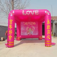 backdrop outlet - Hi shed new promotional wedding arch doors supplies inflatable props factory outlets backdrop
