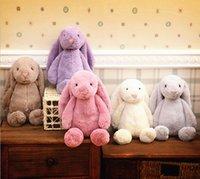 baby dolls uk - Very cute cm UK Bashful Bunny rabbit plush toy stuffed doll Animal model very soft cotton rabbit kids baby toys birthday gift