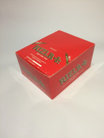 Cheap RIZLA+RED KING SIZE 100 MM Cigarette ,Rolling Paper Quality Papers Smoking Thin Tobacco Rolling Paper 50 booklets box