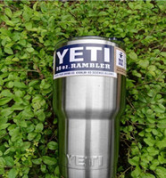 Wholesale 2016 Hot Sale Rambler Tumbler oz YETI Cups Cars Beer Mug Large Capacity Mug Tumblerful TOP1344T1T