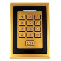 access user manual - Door Mirror RFID Reader Standard Users Metal Password keypad Access Controller With English Manual Golden F1207