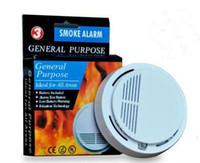 Wholesale super Wireless Smoke Detector for Fire Alarm Sensor Home Security High Sensitivity Stable LED DB V Battery
