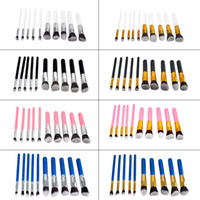 Wholesale 10pcs set Makeup Brushes Set Professional Make Up Brush Set Kits Cosmetic Brush Set Kit Tool makeup brushes set with OPP Bag